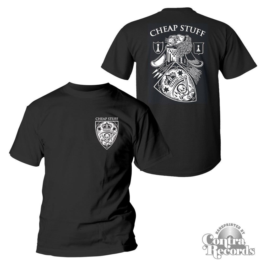 """Cheap Stuff - """"Kings And Pawns"""" - T-Shirt black front/backprint"""