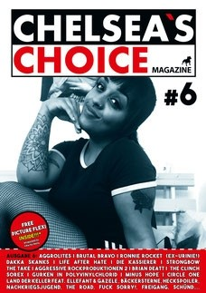 Chelsea`s Choice Magazine #6 INCL. FREE FLEXI 7""