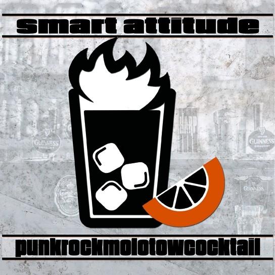 """Smart Attitude – Punkrockmolotowcocktail 7""""EP lim.157 black incl download"""