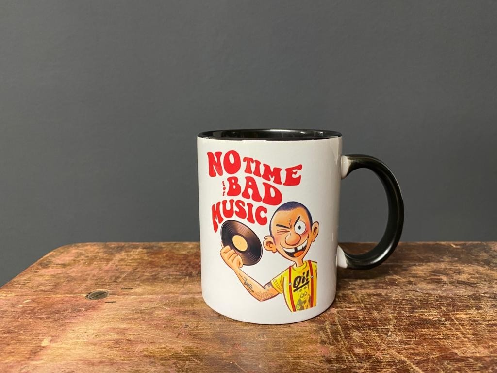 No Time For Bad Music - Tasse/Mug