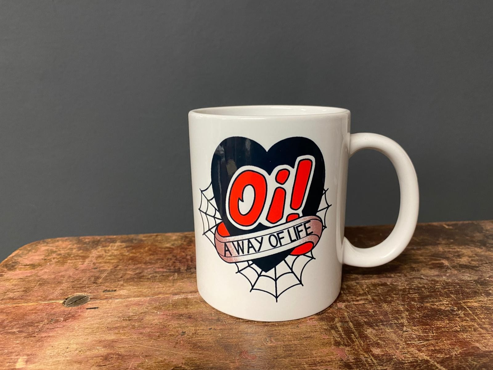Oi! A way Of Life - Tasse/Mug