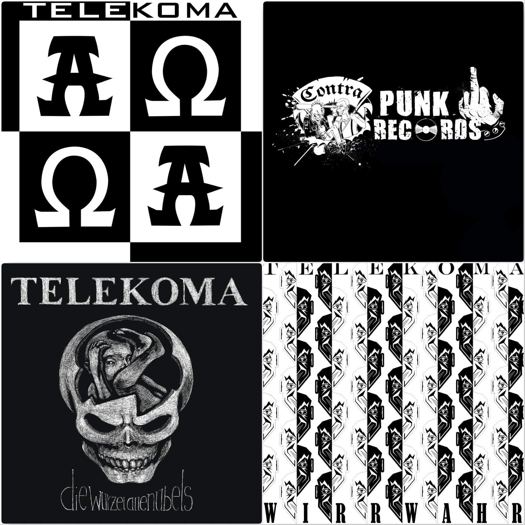 "Telekoma Vinyl #package deal 3x12""LP"
