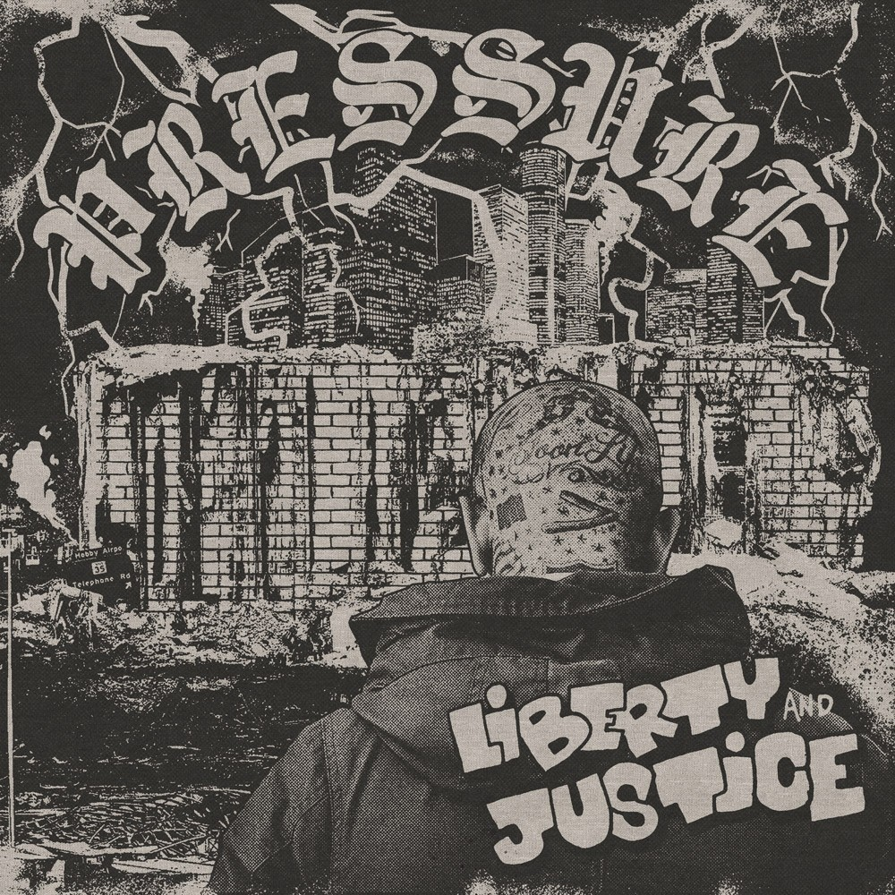 "Liberty & Justice - ""Pressure"" - 12""LP lim. 200 grey swirl"