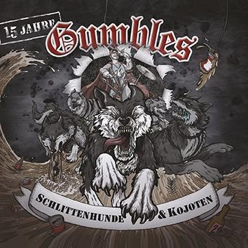 "GUMBLES-Schlittenhunde & Kojoten package deal# Girl/T-Shirt + 12""LP"