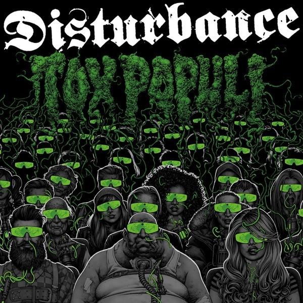"""DISTURBANCE """"Tox Populi"""" 12""""LP lim. green vinyl"""