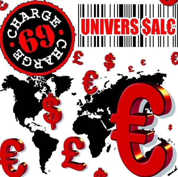 Charge 69 - Univers Sale + 5 Bonustracks CD