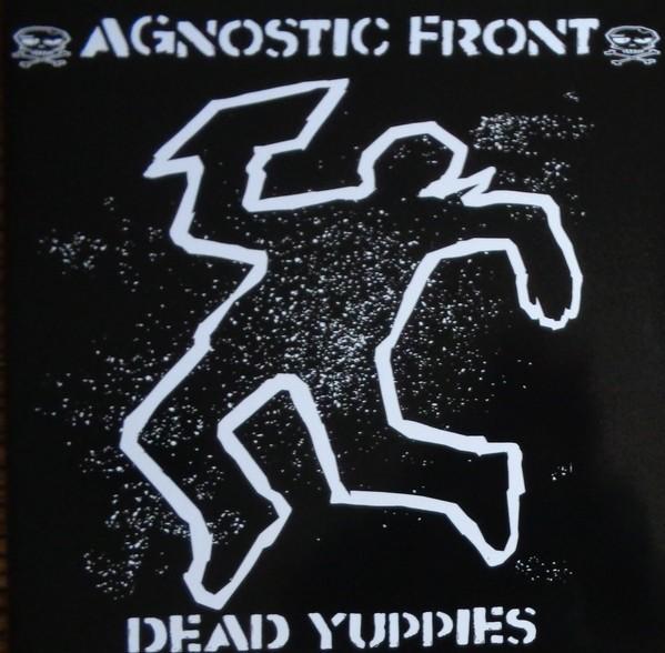 """Agnostic Front - Dead yuppies 12""""GF-LP lim.500 blue"""