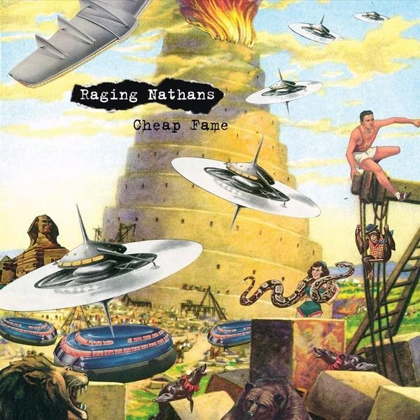 "Raging Nathans - Cheap Fame 12""LP"