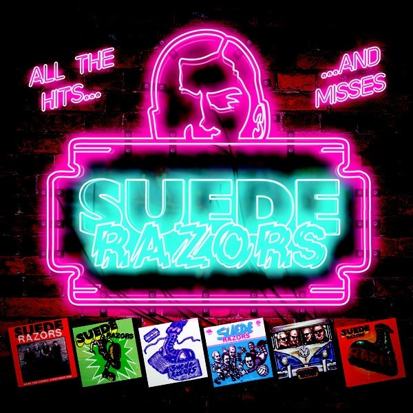 "Suede Razors ‎- All The Hits... ...And Misses 12""LP lim.100 hot pink"