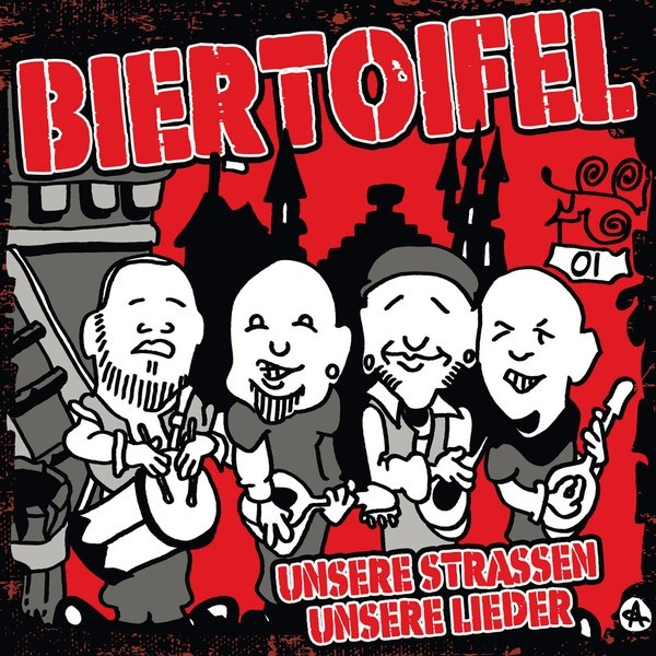 """Biertoifel - Unsere Strassen Unsere Lieder 12""""LP+download lim.300 red"""