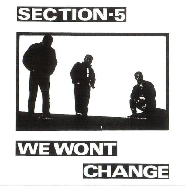 Section-5 - We Won't Change CD + Bonustracks