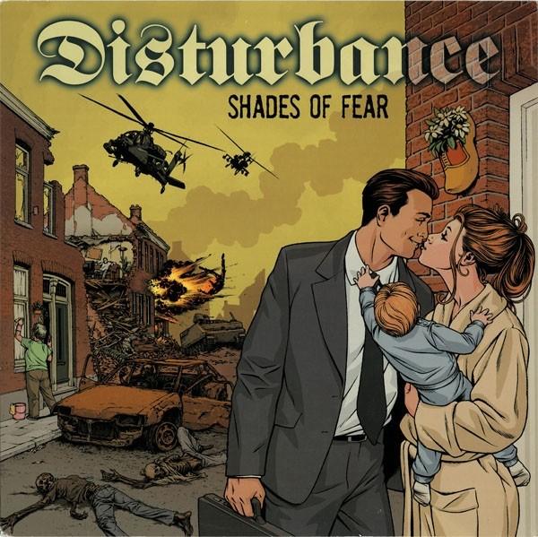 """DISTURBANCE """"Shades of Fear"""" 12""""LP"""