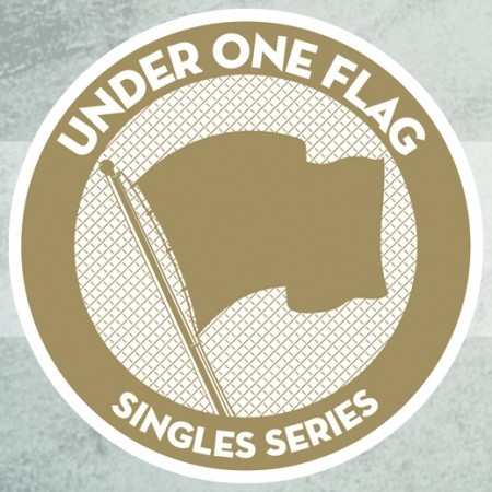 """This is not a Fax Machine - Under 1 Flag Series, #52 - one sided etched-7""""EP (lim. 350 Black)"""