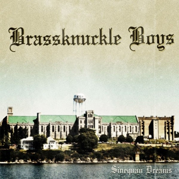 """BRASSKNUCKLE BOYS-Sinequan Dreams 7""""EP+PATCH!!!"""