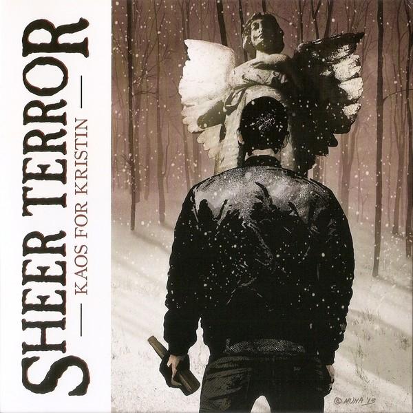 """Sheer Terror - Kaos For Kristin 7""""EP lim. yellow splatter"""