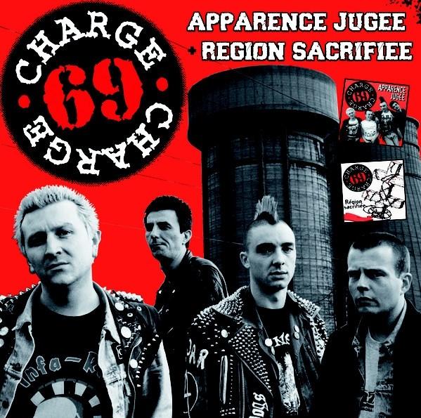 "Charge 69 - ""Apparence Jugee"" + ""Region Sacrifiee"" CD"
