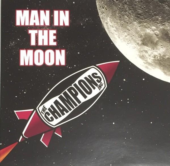 Champions Inc. - Man on the Moon -7`EP lim.100 Black