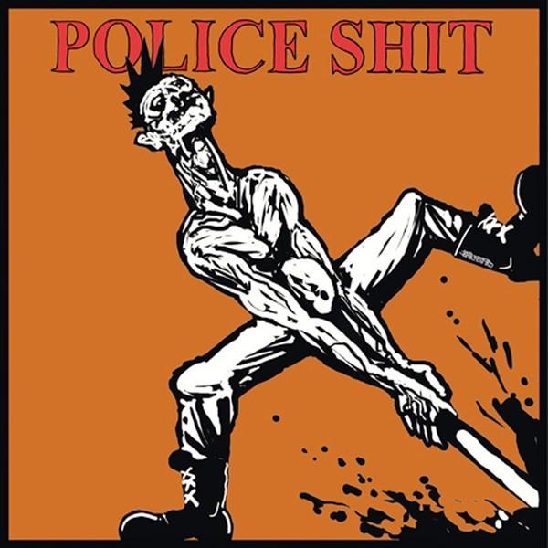 """Police Shit - Punker Herz 12""""LP (verschiedene Vinylfarben)"""