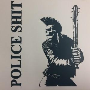 """Police Shit - Punker Herz 12""""LP lim.100Pink mit Siebdruckcover"""