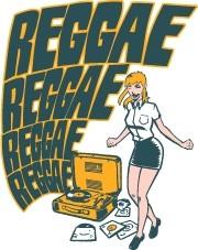 Reggae Reggae - Sticker