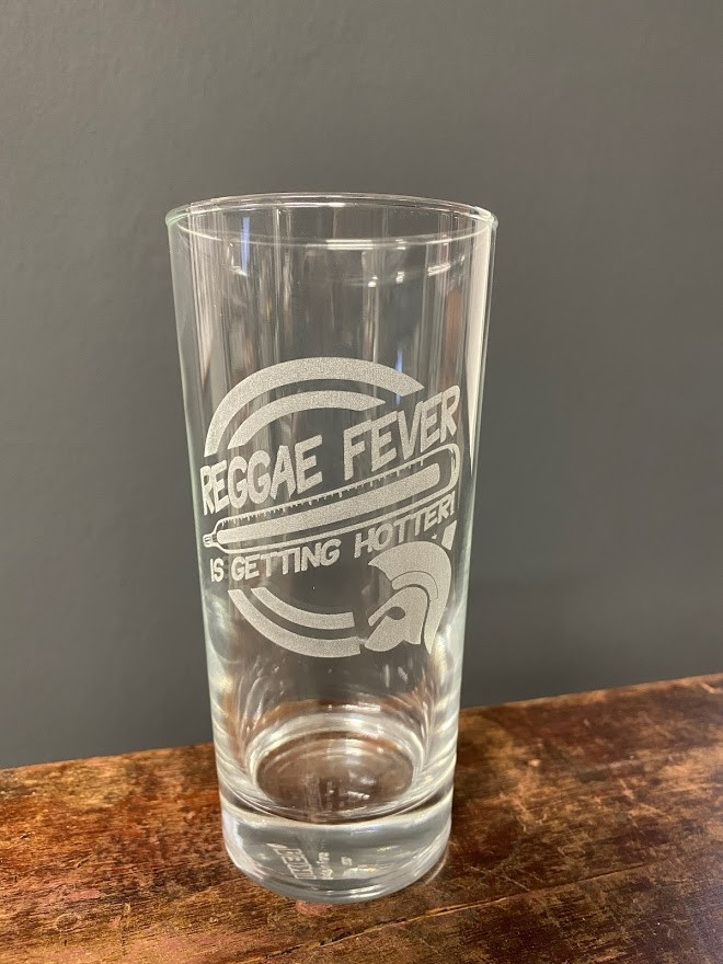 Reggae Fever - Drinking Glass