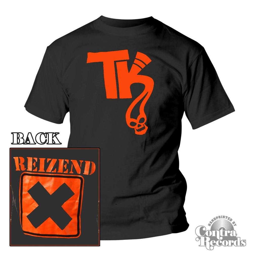 Telekoma - Reizend - T-Shirt black front/backprint