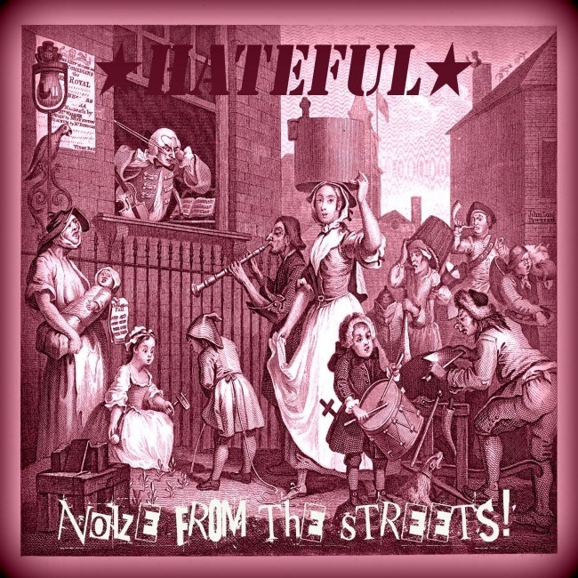 """Hateful - Noize from the Streets 12""""LP lim.200 Purple"""