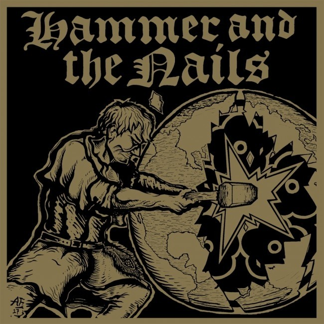 Hammer And The Nails - s/t CD (lim 500, super jewel box)