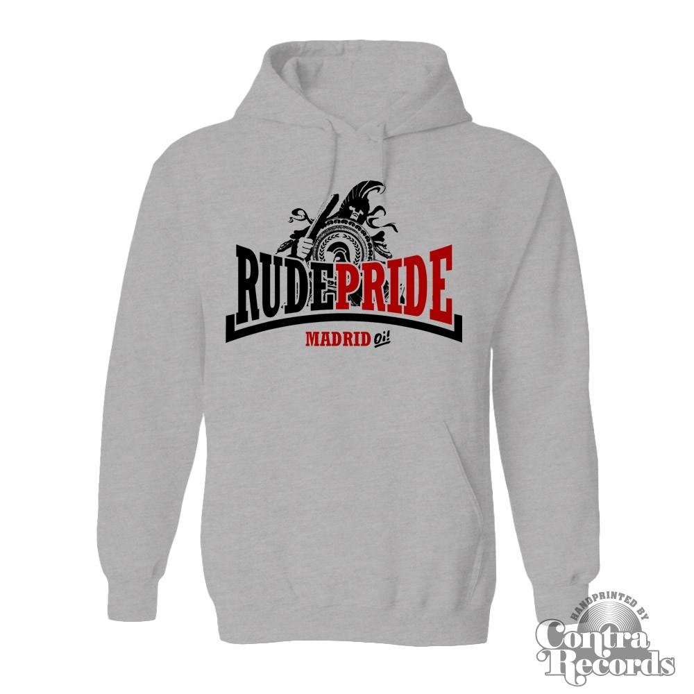 Rude Pride - Trojan - Hoody grey