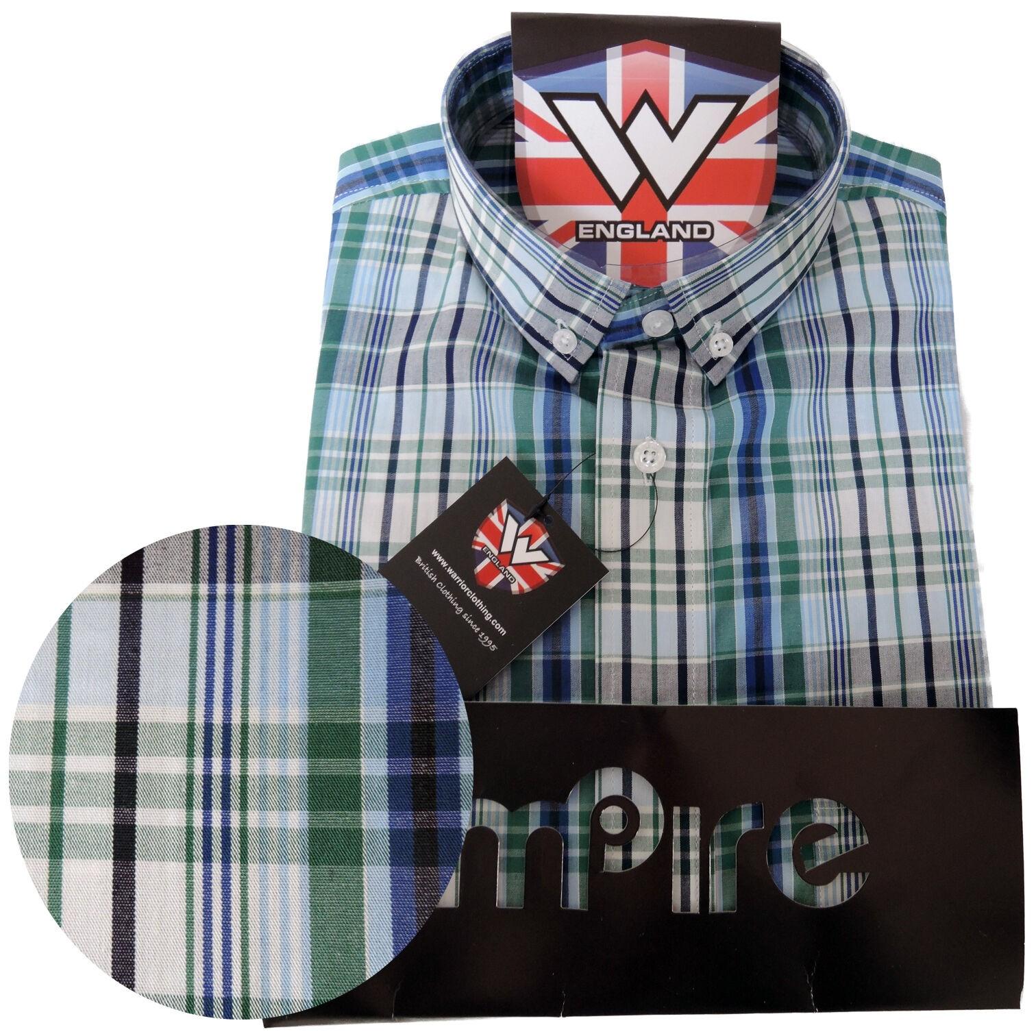 Warrior - Vintage Button Down Hemd - Wallis