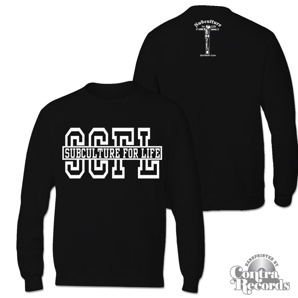 "Subculture for Life - ""SCFL"" Longsleeve  Shirt black"