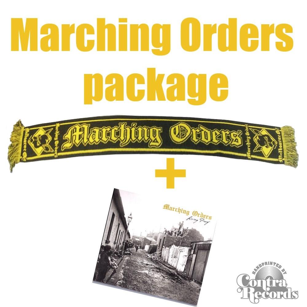 Marching Orders - package deal # Scarf + Digipack-CD