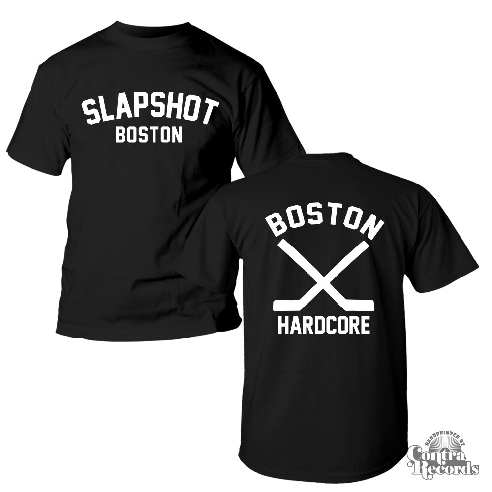 "Slapshot - ""Boston Hardcore"" T-Shirt black front/backprint"