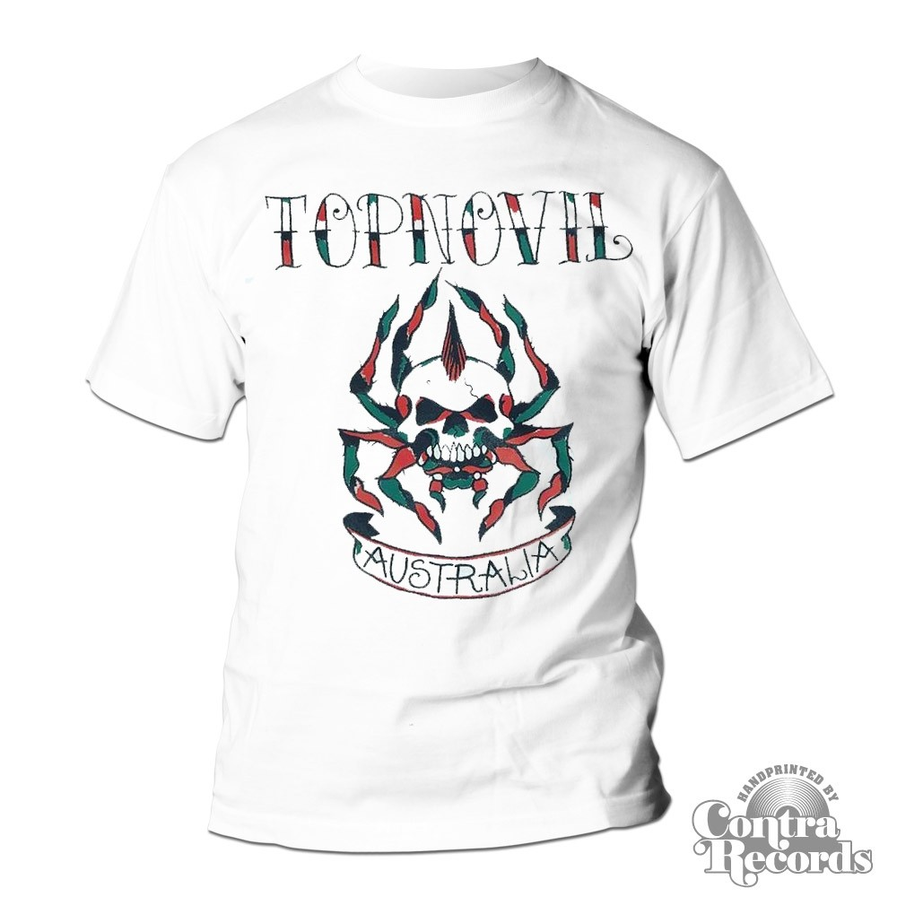 Topnovil - spider T-Shirt white