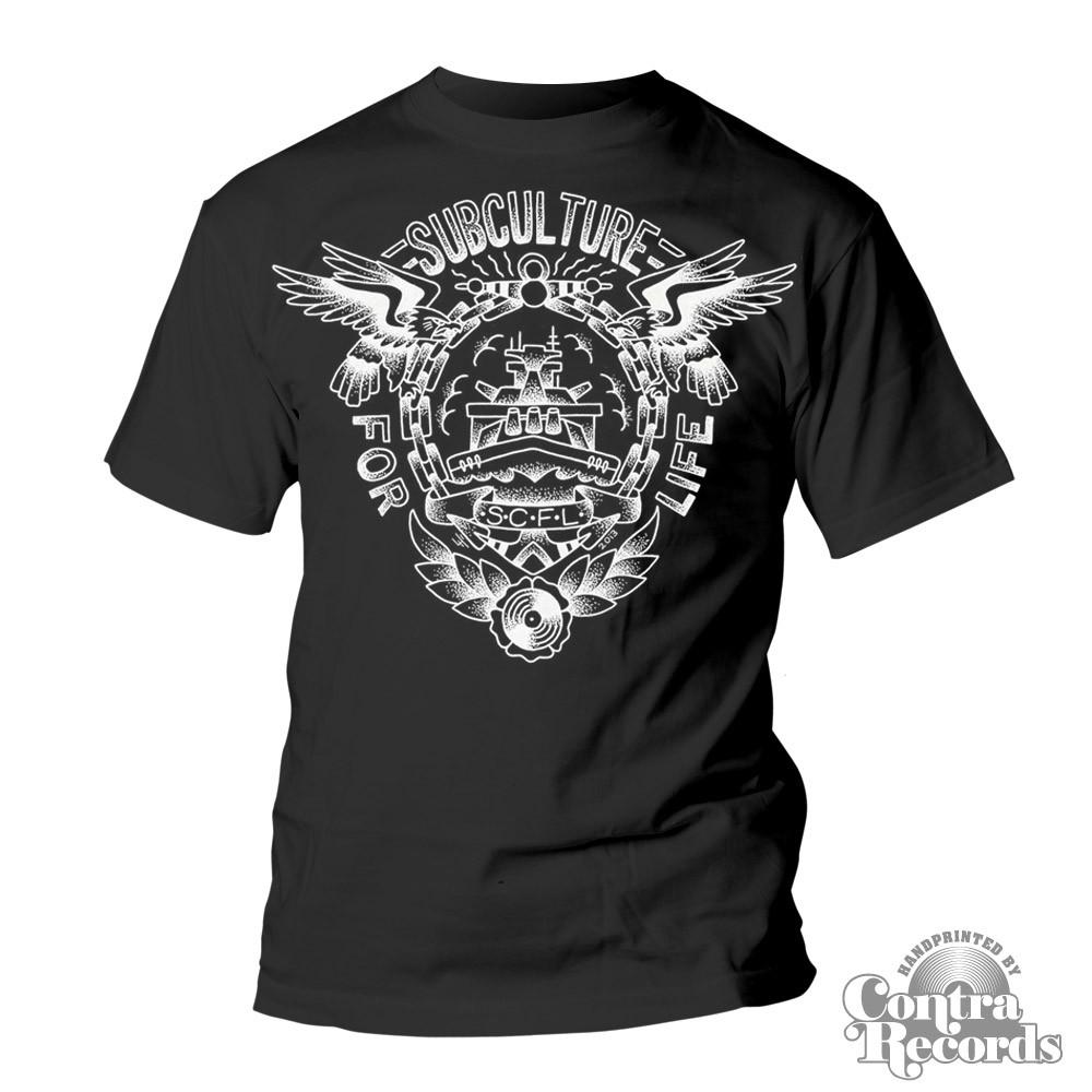 "Subculture for Life ""Battleship"" T-Shirt black (last sizes!)"
