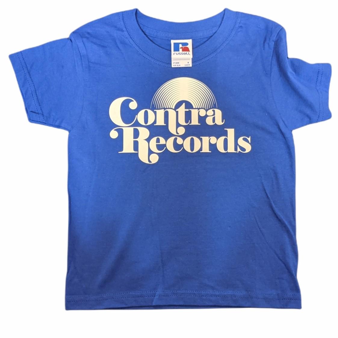 Contra Records - Vinyl classic - Kids Shirt royal blue