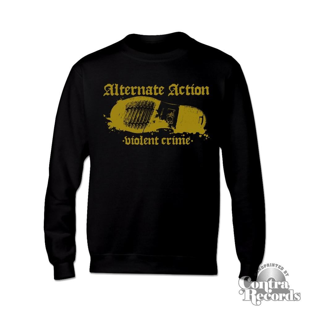 """Alternate Action - """"Violent Crimes"""" - Sweater black"""