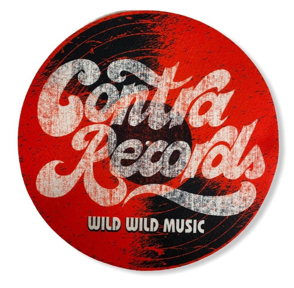 """Contra Records """"it's the real thing"""" - 12"""" Slipmat"""
