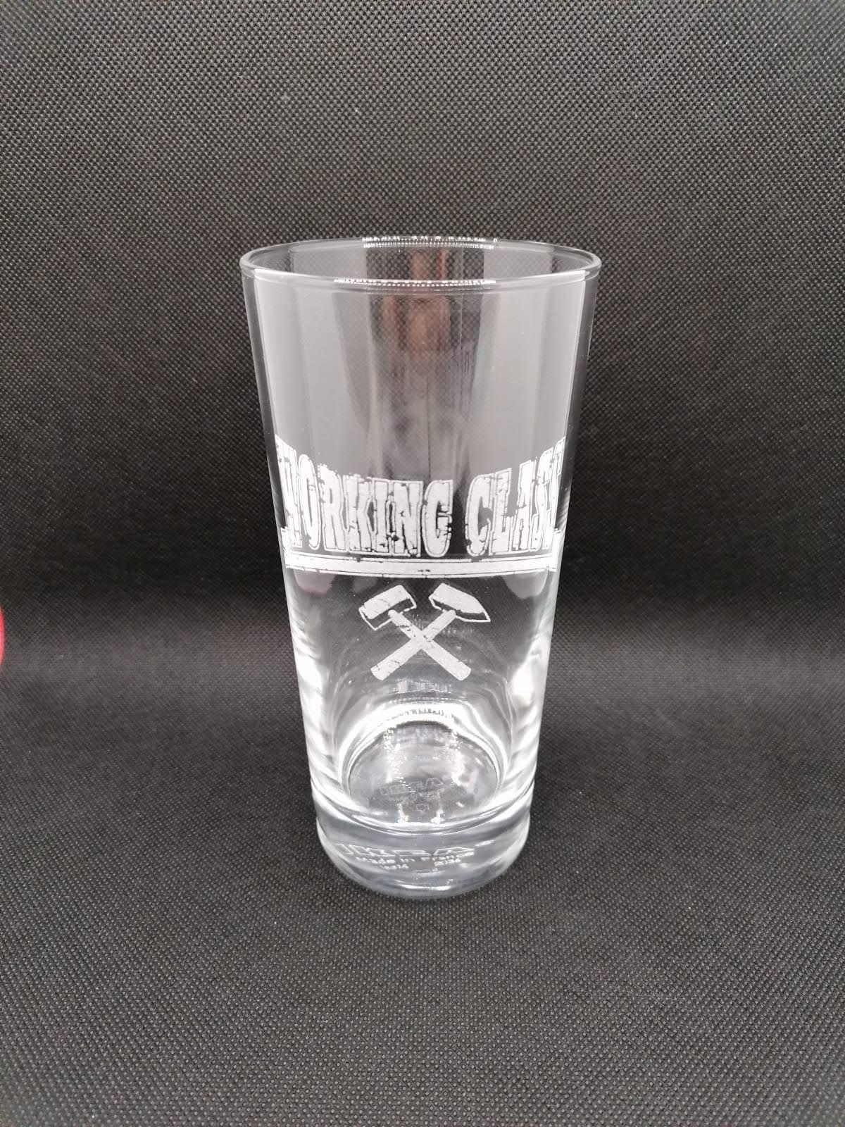 Working Class - Hammer - Drinking Glass