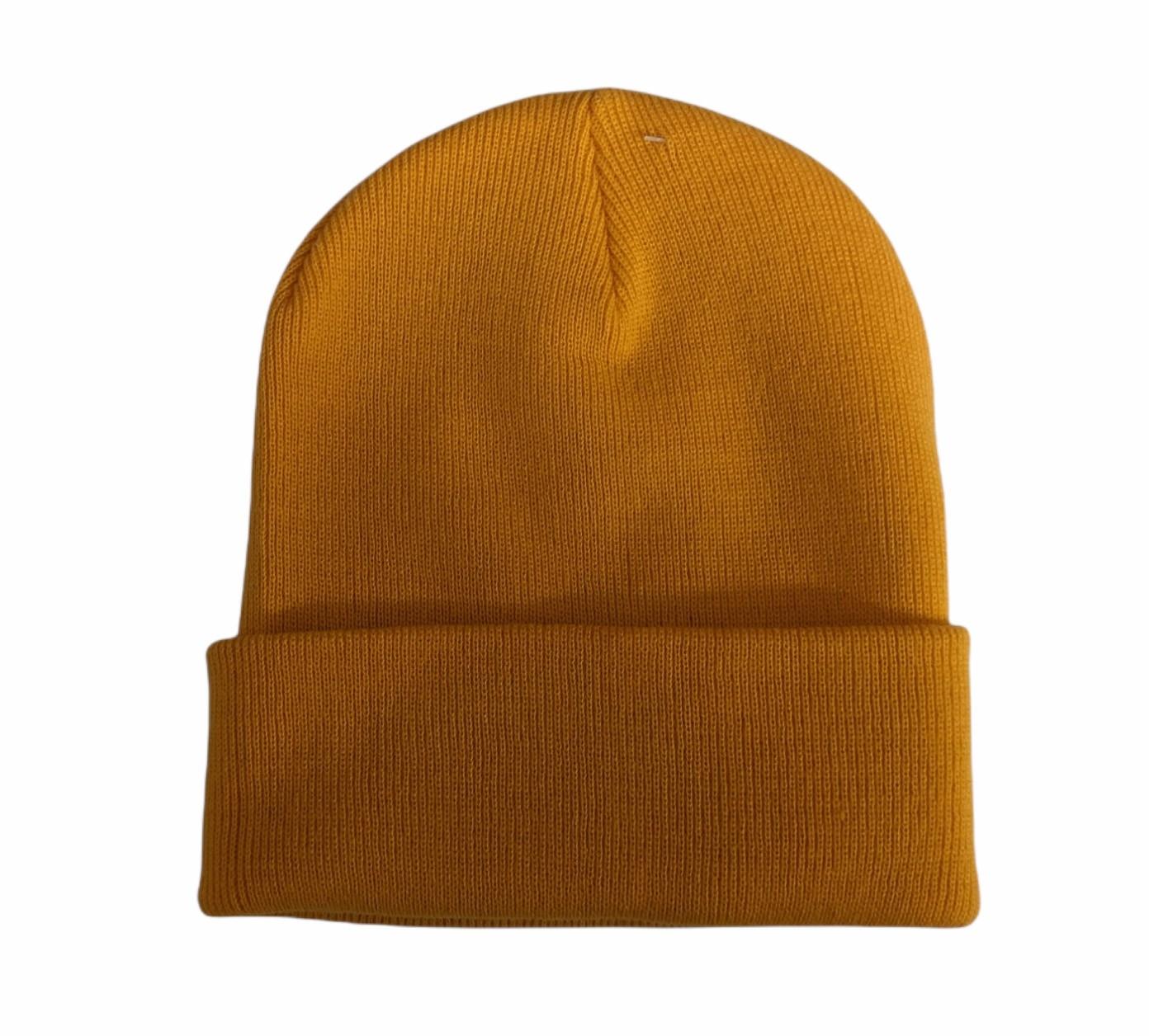 Beanie - yellow