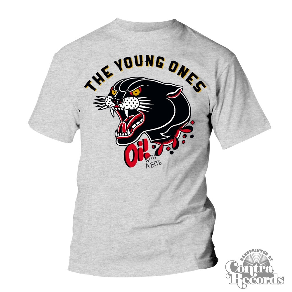 """Young Ones,The - """"Oi! With A Bite"""" T-Shirt lim. grey"""