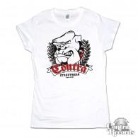 Contra - Streetwear since 2004 Girl Shirt white
