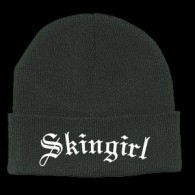 Skingirl embroidery - wooly hat