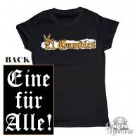 Gumbles - Eine für Alle black - Girl Shirt