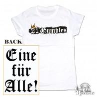 Gumbles - Eine für Alle white - Girl Shirt