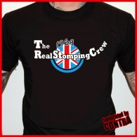 The Real Stomping Crew black - T-Shirt