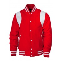 Kings League - red/white - College Jacket Shoulder Stripes (last sizes)