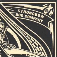 V/A Strongbow/Dog Company - Split 7'EP (Gold Splatter)