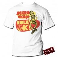 Aggro Skins - Rule Ok! - T-Shirt