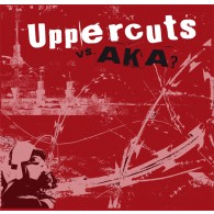 "V/a AKA (Hateful) / UPPERCUTS - lim.col. Split 12""LP"